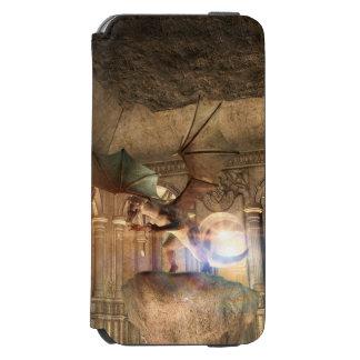 Dragon en position d'attaque dans un château coque-portefeuille iPhone 6 incipio watson™