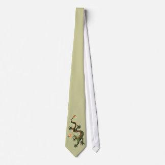 Dragon et perle chinois cravates