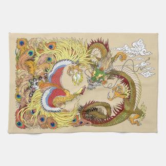 Dragon et Phoenix chinois Linge De Cuisine