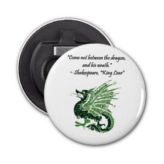 Dragon et son Roi Lear Cartoon de Shakespeare de