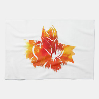Dragon fire serviette éponge