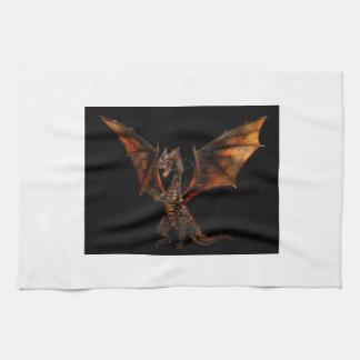 Dragon fire serviettes pour les mains