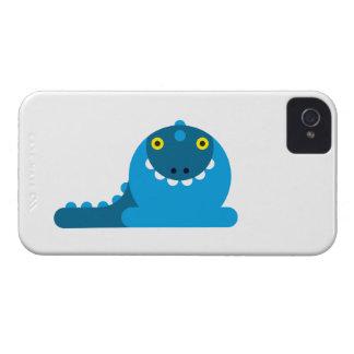 Dragon fou bleu coques iPhone 4 Case-Mate