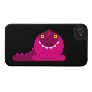 Dragon fou rose coque iPhone 4 Case-Mate