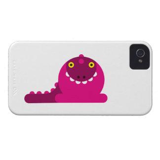 Dragon fou rose coques iPhone 4 Case-Mate