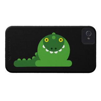 Dragon fou vert coques iPhone 4