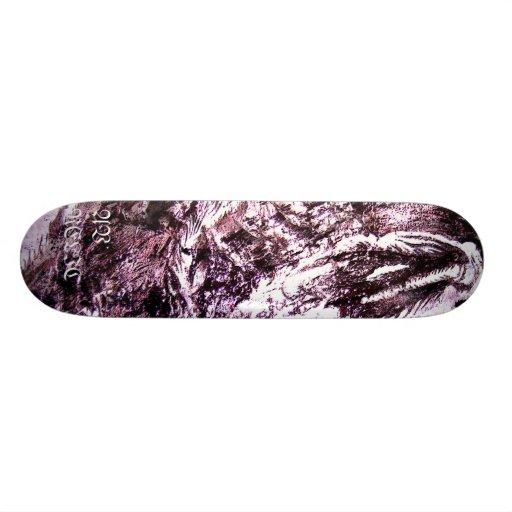 Dragon gothique plateau de skateboard