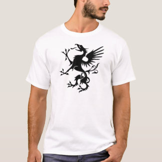 Dragon héraldique - cool t-shirt