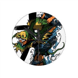 Dragon Pendules Murales