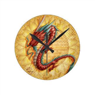 Dragon Horloge Ronde