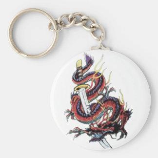 Dragon japonais Katana de Sui Riu Porte-clé
