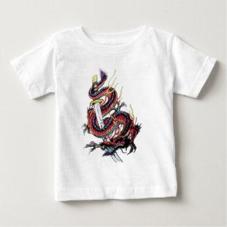 Dragon japonais Katana de Sui Riu T-shirt Pour Bébé