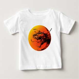 Dragon mauvais t-shirt pour bébé