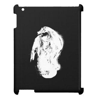 Dragon noir et blanc étui iPad