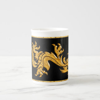 Dragon oriental d'or 03 mug