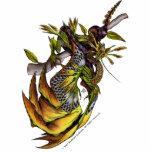 Dragon pygméen Photosculpture d'arbre Photo En Relief