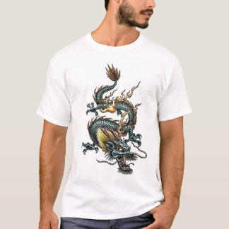 Dragon stylisé 07 t-shirt