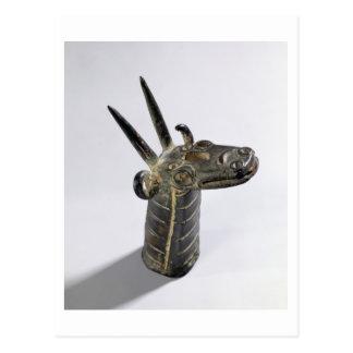 Dragon, symbole du dieu Marduk, défunt pe assyrien Carte Postale