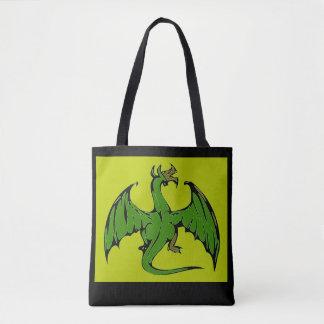 Dragon vert sac