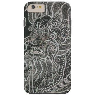 Dragon vintage de Bangkok Coque iPhone 6 Plus Tough