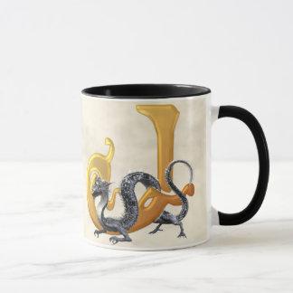 Dragonlore J initial Mug