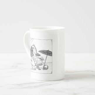 Dragons à la mode mug