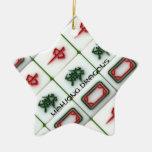 Dragons de Mahjong Décorations Pour Sapins De Noël