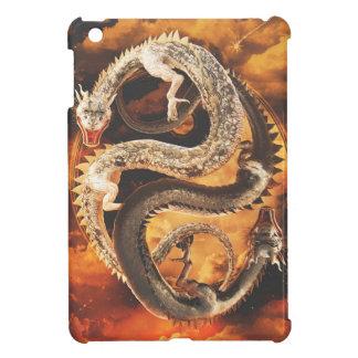 Dragons de Yin Yang - chaos Coques iPad Mini