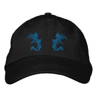 dragons jumeaux casquette brodée