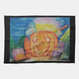 Dragonween heureux serviettes éponge
