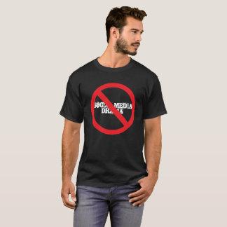 Drame social de médias non permis t-shirt