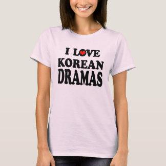 Drames coréens t-shirt