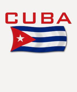 Drapeau 1 du Cuba T-shirts