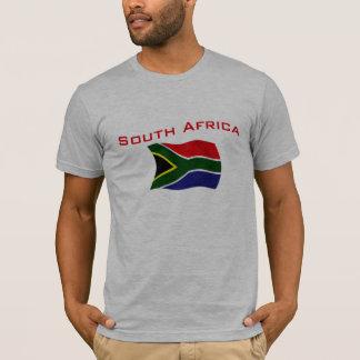 Drapeau 2 de l'Afrique du Sud T-shirt
