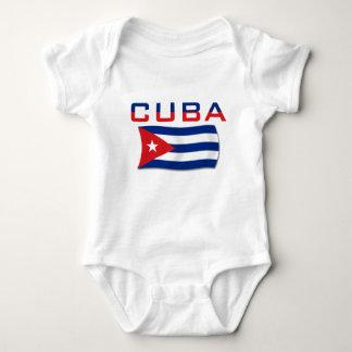 Drapeau 2 du Cuba Body
