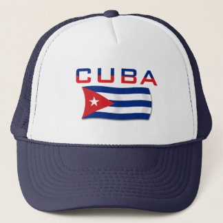 Drapeau 2 du Cuba Casquette