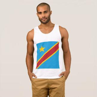 Drapeau abstrait du Congo, République démocratique