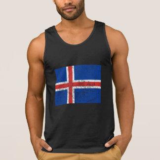 Drapeau affligé de l'Islande