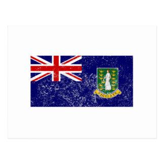 Drapeau affligé des Îles Vierges britanniques