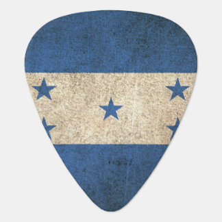 Drapeau affligé par cru du Honduras Onglet De Guitare