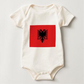 Drapeau albanais body