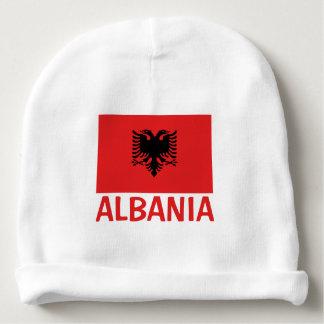 Drapeau albanais bonnet de bébé