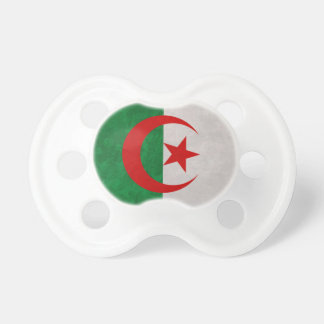 drapeau Algérie Sucette Pour Bébé