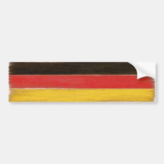 Drapeau allemand affligé par cool d'adhésif pour autocollant de voiture