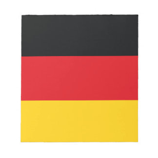 Drapeau allemand blocs notes