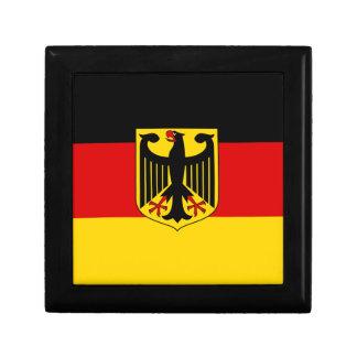 Drapeau allemand boîte à souvenirs