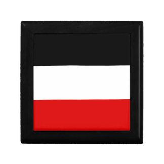 Drapeau allemand impérial - Deutsches Kaiserreich Boîte À Souvenirs
