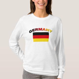 Drapeau allemand t-shirt