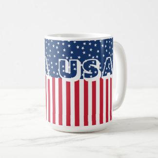 Drapeau américain 4ème de bannière étoilée mug