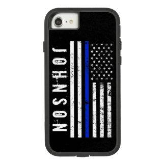 Drapeau américain affligé de style de police coque Case-Mate tough extreme iPhone 7